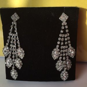 Victoria Lee Rhinestone earrings
